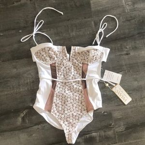 For Love and Lemons daisy one piece